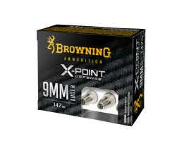 Browning X-Point Defense 115 gr X-Point 9mm Ammunition For Sale