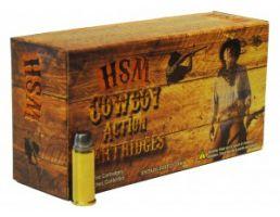 HSM 44-40 Winchester 200gr RNFP Ammunition New Manufacture Cowboy Action 50rds - HSM-44-40-1-N