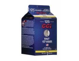 CCI VNT 17 HMR 17 gr VNT 125 Round Carton