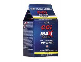 CCI Maxi Mag .22 WMR 40 gr JHP 125 Rounds Ammunition