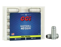 CCI 88 gr #9 Shotshell .40 S&W Ammunition 20 Rounds