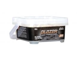 CCI Blazer 180 gr FMJ .40 S&W Ammunition 200 Round Value Pack