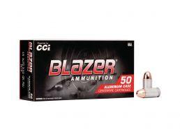 CCI Blazer .45 ACP 230 gr 100 Rounds Aluminum Cased Ammunition