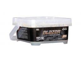 CCI Blazer Brass 9mm 115gr FMJ Ammuniton 250 Round Bucket