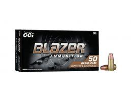 CCI Blazer Brass 9mm 147 gr FMJ 50 Rounds