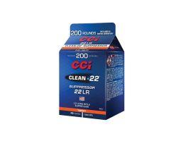 CCI Clean 22 .22 LR 45 gr LRN 200 Rounds Ammunition
