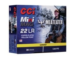 CCI Meat Eater Mini Mag 36 gr CPHP .22 LR Ammunition 300 Rounds