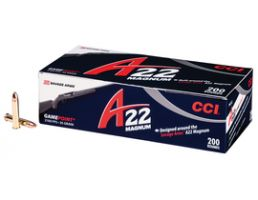 CCI 22 Magnum 35gr GamePoint Ammunition 200rds - 963CC
