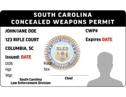 South Carolina CWP License