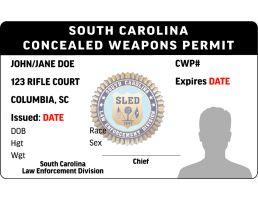 South Carolina CWP License