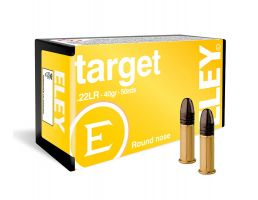 Eley Target 40 gr Round Nose .22 LR Ammunition For Sale