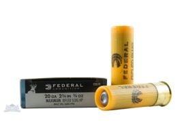 """Federal 20ga 2.75"""" MAx 3/4oz HP Power-Shok Shotshell Ammunition 5rds - F203 RS"""
