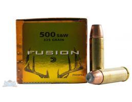 Federal 500 S&W Magnum 325gr Fusion Ammunition 20rds - F500FS2