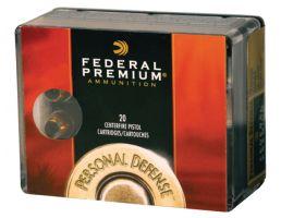 Federal 40 S&W 165gr Hydra-Shok Ammunition 20rds - P40HS3