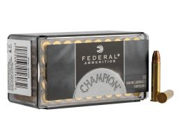 Federal Champion 40 Grain FMJ .22 WMR Ammunition, 50 Rounds