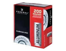 Federal Champion Training 105 gr FMJ Aluminum Cased 9mm Ammunition 200 Rounds