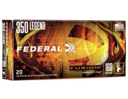 federal fusion 350 legend ammo 160 grain