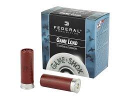 """Federal Game Load 2.75"""" 6 Shot 1 oz 12 Gauge Ammunition 25 Rounds"""