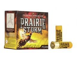"Federal Prairie Storm 2.75"" 1 1/4 oz 4 Shot 16 Gauge Ammunition 25 Rounds"