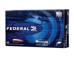 Federal Varmint & Predator 22-250 Remington 55 gr V Max 20 Rounds Ammunition