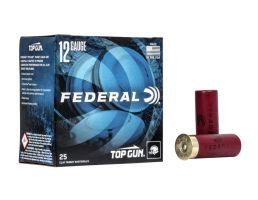 "Federal Premium Top Gun 2.75"" 1 1/8 oz 7.5 Shot 12 Gauge Ammunition 25 Rounds"