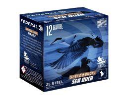 "Federal Speed Shok Sea Duck 12 ga 3"" 1/4 oz 3 Shot 25 Rounds"