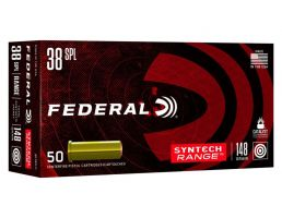 Federal Syntech Synthetic Jacket Wadcutter 148 gr .38 Special 50 Rounds