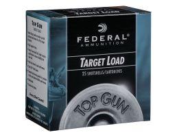 "Federal Top Gun 12 Gauge 2.75"" 8 Shot 1 1/8 oz 25 Rounds"