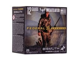 "Federal Premium Upland Bismuth 12 Gauge 3"" 1 3/8 oz 3 Shot 25 Rounds"