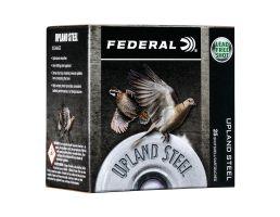 "Federal Upland Steel 2.75"" 3/8 oz 6 Shot .410 Ammunition 25 Rounds"