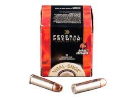 Federal 454 Casull 250gr Barnes Expander Ammunition 20rds - P454XB1