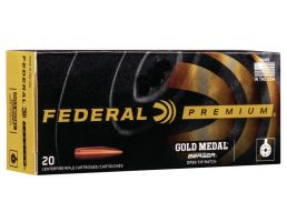 Federal Premium Gold Medal 215 gr Berger Hybrid .300 Win Mag Ammo, 20/box - GM300WMBH1