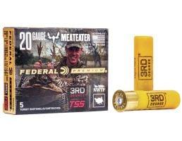 "Federal Premium 3rd Degree with Heavyweight TSS 3"" 20 Gauge Ammo 5, 6, 7, 5/box - PTDX258567"