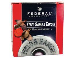 "Federal 410ga 3"" 3/8oz #6 ""Field & Range"" Steel Shotshells 25rds - FRS413 6"