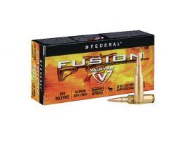 Federal Fusion .224 Valkyrie 90gr Ammunition, 20 Rds - F224VLKMSR1