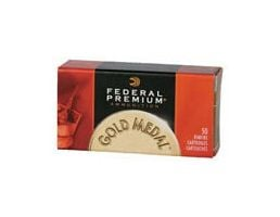 Federal 22 Long Rifle 40gr Solid Gold Medal Ammunition 500rds (10 Boxes of 50) - 719