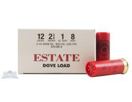 "Estate 12ga 2.75"" 3.25dr 1oz #8 Shotshells 25rds - GTL12N 8"