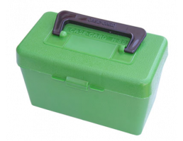 MTM Deluxe FT Ammo Box 270-3006 50r-Green-50rd-H50-RL-10