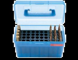 MTM Deluxe FlipTop Ammo Box 22-250- -50 rd-H50-RM-24