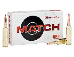 Hornady Match 88 gr ELD .224 Valkyrie Ammunition 20 Rounds