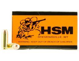 HSM 10MM 180gr FMJ Ammunition New Manufactured 50rds HSM-10MM-2-N