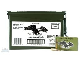 American Eagle 5.56mm 62gr FMJ Ammunition 420rds in Ammo Can - XM855FAC1