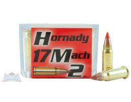 Hornady 17 Mach 2 17gr V-MAX Rimfire Varmint Express Ammunition 50rds - 83177