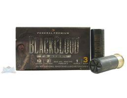 """Federal 12ga 2.75"""" 1oz #3 Black Cloud Waterfowl Shotshell Ammunition 25rds - PWB146 3"""