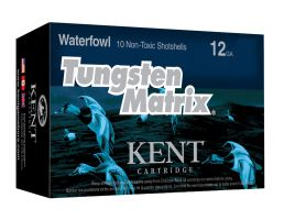 "Kent Tungsten Matrix 2.75"" 1 oz 6 Shot 20 Gauge Ammunition 10 Rounds"