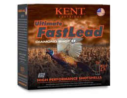 "Kent Ultimate Fast Lead 12 Gauge 2 3/4"" 1 1/4 oz 5 Shot 25 Rounds"
