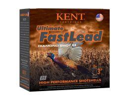 "Kent Ultimate Fast Lead 12 Gauge 3"" 1 3/4 oz 4 Shot 25 Rounds"