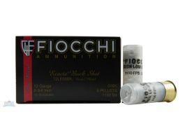 "Fiocchi 12ga 2.75"" 00 9 Pellets Shotshell Ammunition 10rds - 12LE00BK"