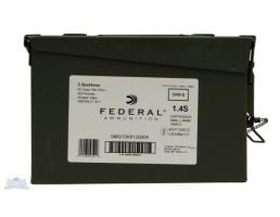 5.56 Rifle Rounds federal 5.56 nato 55 grain fmj ammo can with 420 rounds