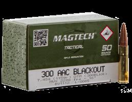 Magtech 300 Blackout Ammo 115 Gr OTM